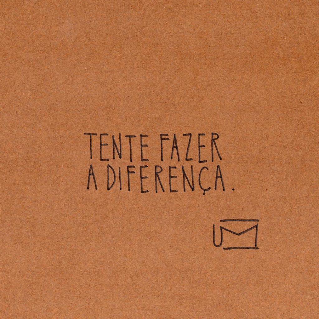 Frases curtas de motivação, tente fazer a diferença