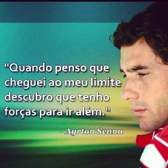 Imagem de motivação Ayrton Senna