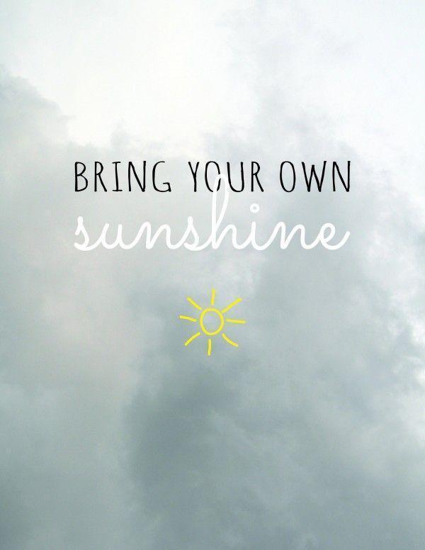 Mensagem de motivação para amiga traga seu próprio raio de sol