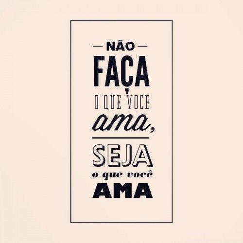 Imagem seja o que você ama